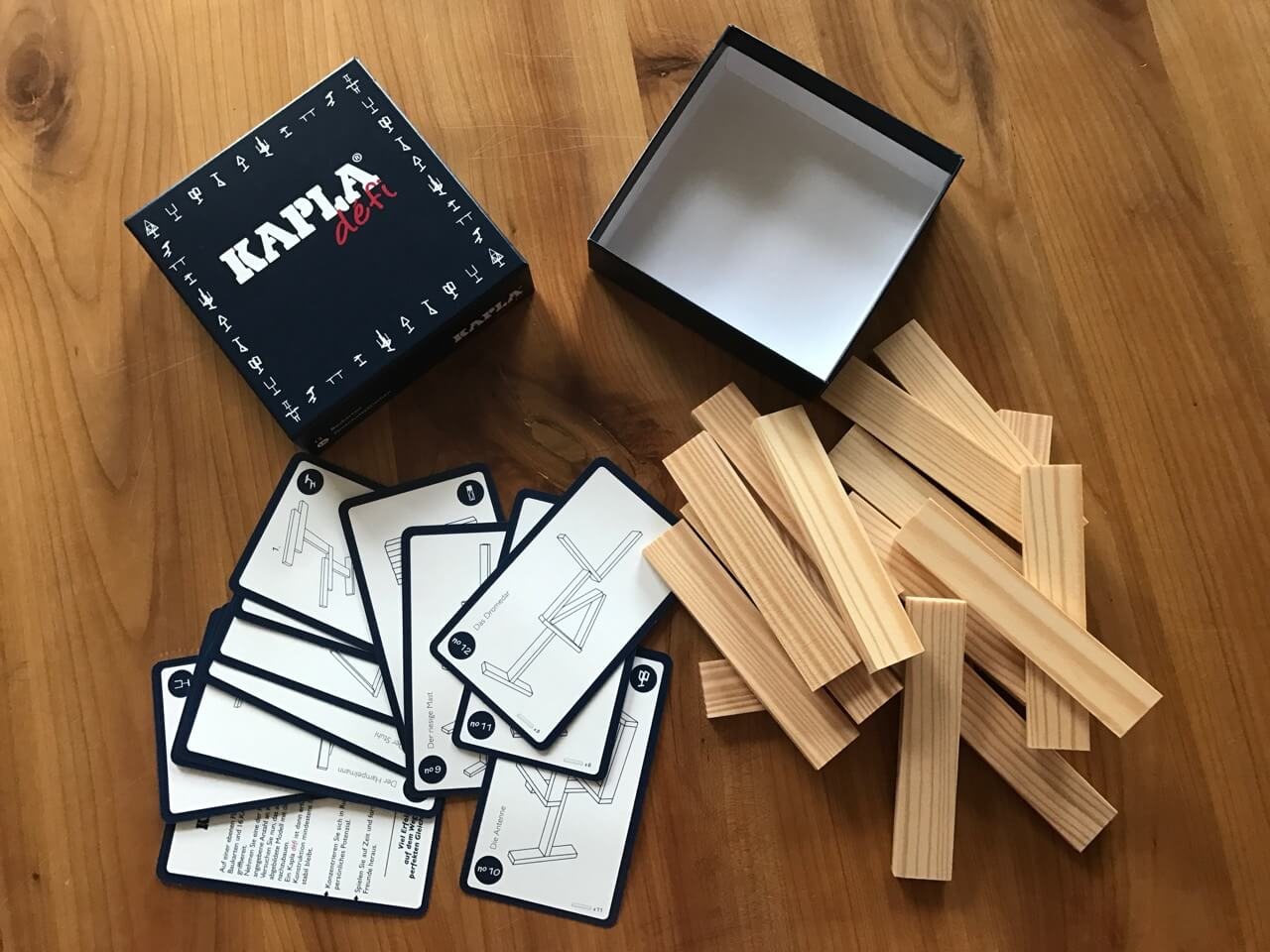 KAPLA Challenge - Box offen