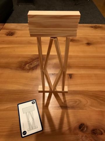 KAPLA Challenge - Der Briefkasten
