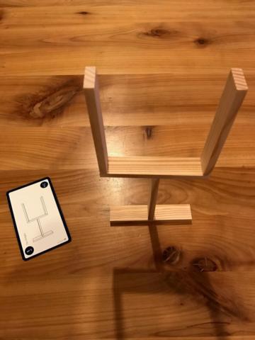 KAPLA Challenge - Das Stielglas