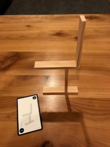 KAPLA Challenge - Der Stuhl