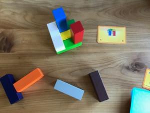 Make 'N' Break 3D Turm aus Bauklötzen