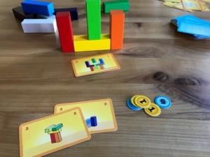 Make 'N' Break Turm aus Bauklötzen