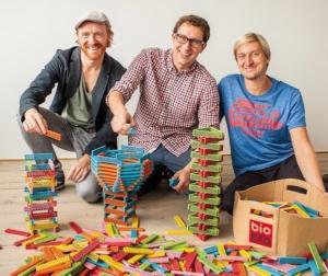 Die 3 Bioblo Gründer