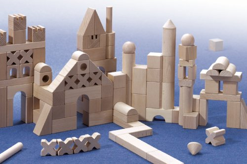 Schloss aus Haba Bausteinen