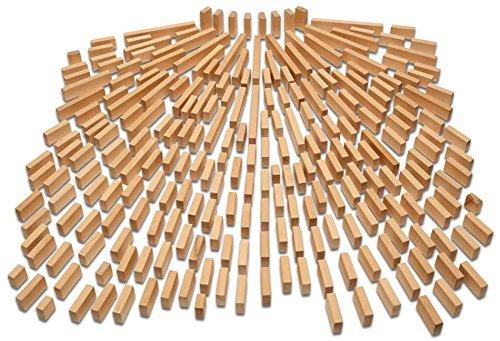 Holzbausteine Großes Grundpaket (244 Bauklötze unbehandelt) - 6