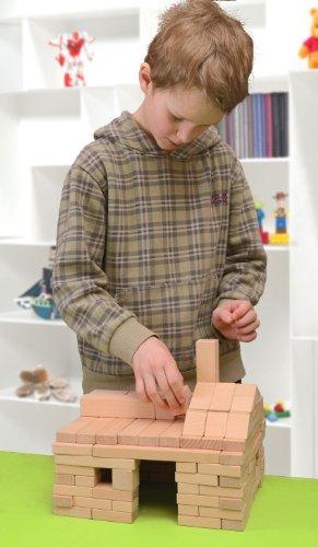 Holzbausteine Großes Komplettpaket (360 Bauklötze) inkl. Aufbew.-Kiste - 5
