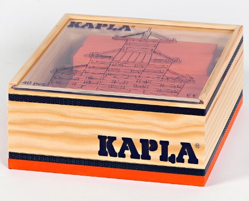 KAPLA 40 Steine, orange - 1