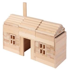Haus aus Kapla Bausteinen - Kapla 1000