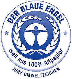 Prüfzeichen: Der Blaue Engel