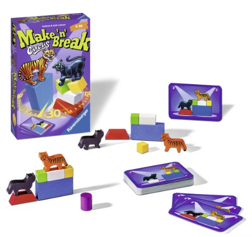 Ravensburger 23378 - Make n Break Circus - Mitbringspiel -