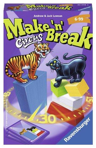 Ravensburger 23378 - Make n Break Circus - Mitbringspiel -