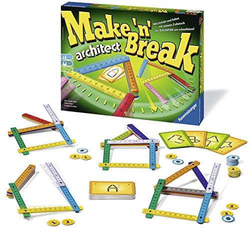 Ravensburger Spiele 26345 - Make 'n' Break Architect, Aktions- und Geschicklichkeitsspiel -